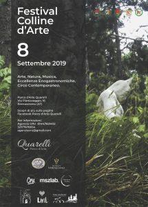 Festival Colline d'Arte al Parco d'Arte Quarelli, Roccaverano (AT)